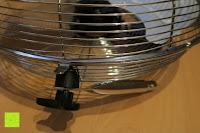 Seite: Andrew James großer 45cm Bodenventilator aus Metall – 100 Watt, kraftvoller Luftfluss, 3 Geschwindigkeitseinstellungen und verstellbarer Neigung – 2 Jahre Garantie