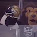 LA Kings mascot taunts Pittsburgh Penguins with Jaguars helmet (Video)