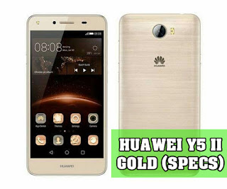 Huawei y5ii Gold Reviews and price