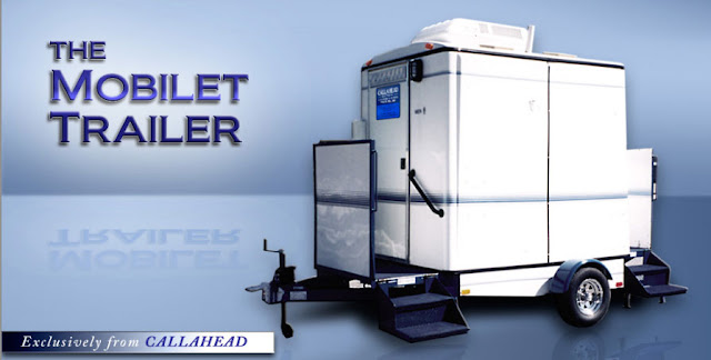 Mobile Restroom Trailer - The Mobilet