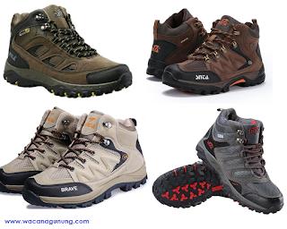 Daftar harga sepatu gunung SNTA