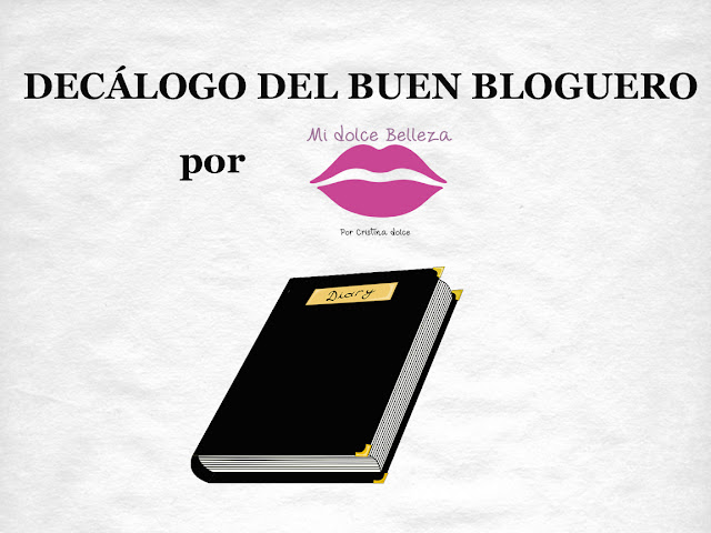 Decalogo del buen bloguero