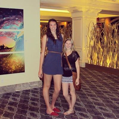 Tall amazon women
