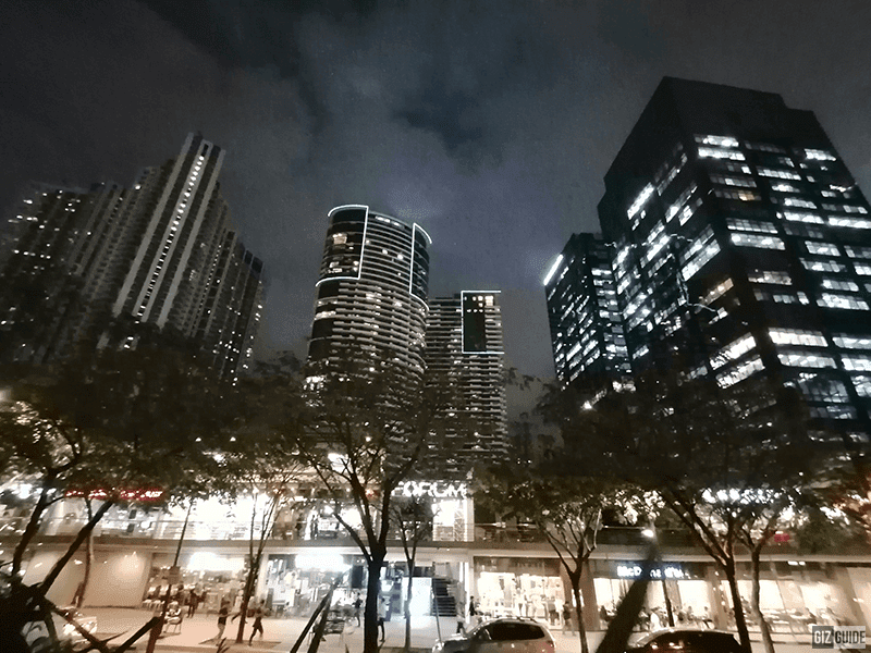 Ultra-wide low light shot