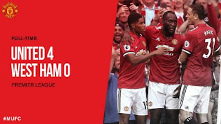 Manchester United vs West Ham United 4-0 Video Gol & Highlights