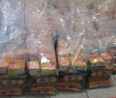 Prefeitura de Umarizal realiza terceira entrega de kits de merenda escolar para alunos matriculados na rede municipal de ensino nesta segunda, 31