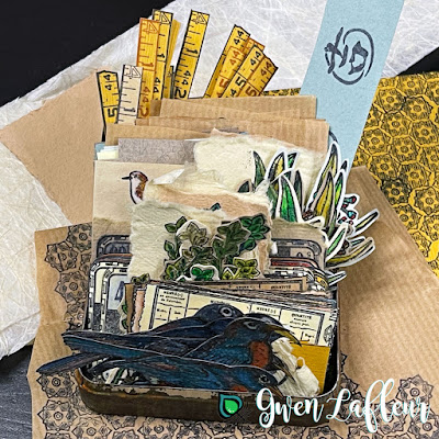 Build-A-Collage Cut and Colored Images - Gwen Lafleur