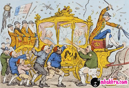 kereta Marie Antoinette