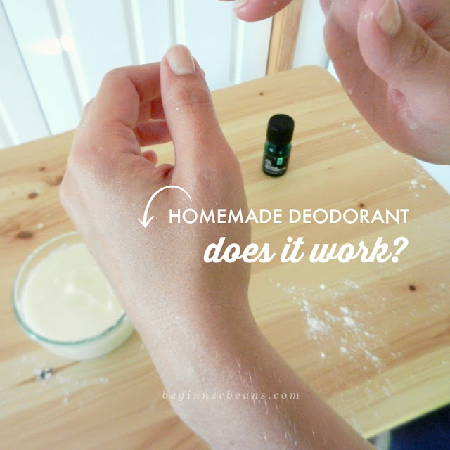 Does homemade essential oil deodorant work? An honest review.