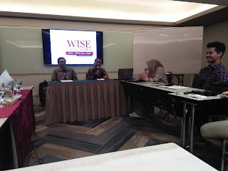 Muhammad Kholid, Mempresentasikan Makalahnya di WISE SUMMER SCHOOL Malaysia