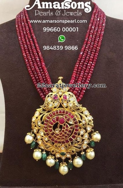 Ruby Long Set by Amarsons Jewellers