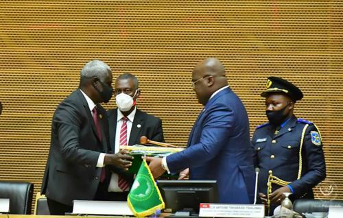 UNION AFRICAINE   Quel mandat pour Tshisekedi ?