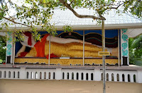 Kotdoowa Rajamaha Viharaya - Tempel auf einer Insel - temple on a island