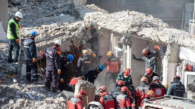 زلزال تركيا 2020