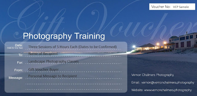 Photography Training Gift Vouchers and Ideas for Birthdays / Christmas