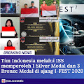 Membanggakan!! Wakili Indonesia, Dua Siswa Aceh Boyong Medali Perunggu Pada I-FEST 2020
