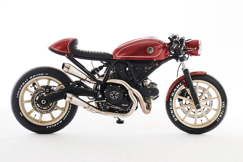 Scrambler Ducati ESG 400 by Eastern Spirit Garage