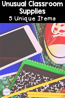 Every classroom needs basic supplies like glue, scissors, and crayons. What about the unusual supplies? This blog post shares 5 Must-Have items in your classroom! These supplies are not your normal everyday use supplies but you will be grateful to have them! #confessionsofafrazzledteacher #teachers #schoolsupplies {Kindergarten, First, Second, Third, Fourth, and Fifth Graders}