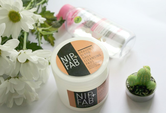 Garnier's micellar water and Nip + Fab's dragon's blood fix pads dreamy skincare duo for combination skin. Nourish ME: www.nourishmeblog.co.uk