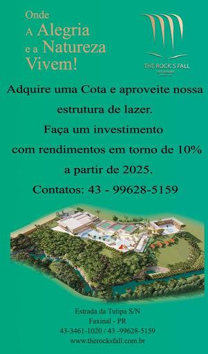 "IMPERDÍVEL - ""The Rock`s Fall"" Resort - Faxinal"