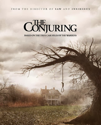 Poster Of The Conjuring In Dual Audio Hindi English 300MB Compressed Small Size Pc Movie Free Download Only At worldfree4u.com