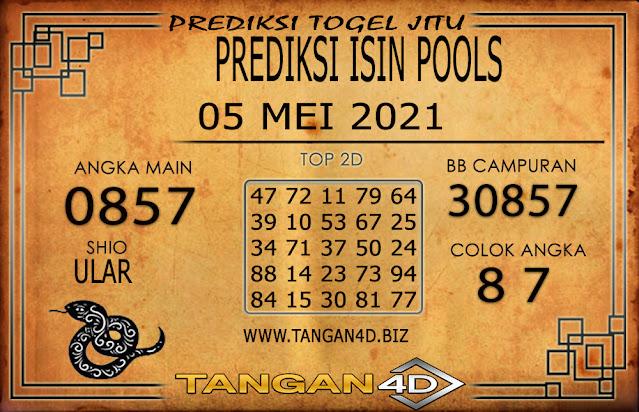 PREDIKSI TOGEL ISIN TANGAN4D 05 MEI 2021
