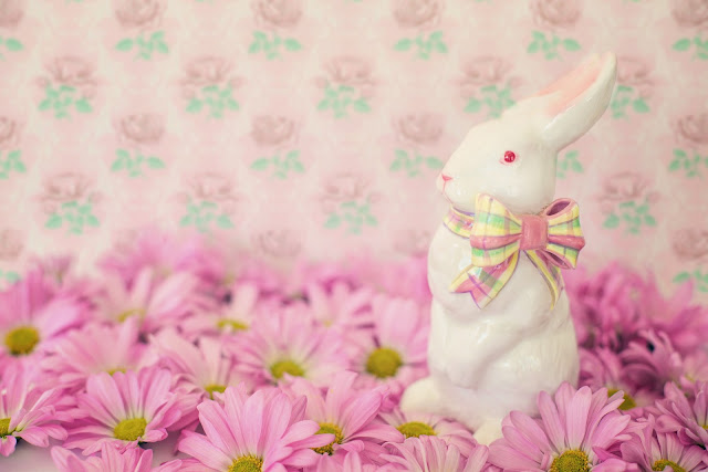 Easter Bunny Pink Color Pictures