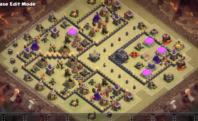 Base COC TH9 War 4
