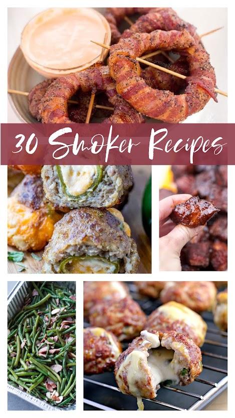 30 smoker recipes