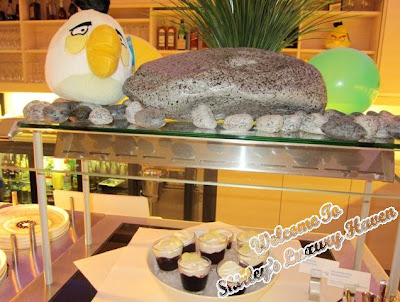 finnair angry birds dessert buffet