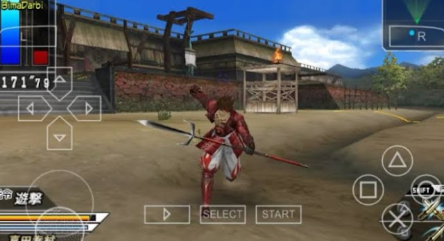 Game Sengoku Basara: Battle Hearoes PPSSPP Terbaik!