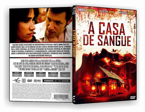 DVD – A Casa de Sangue – ISO