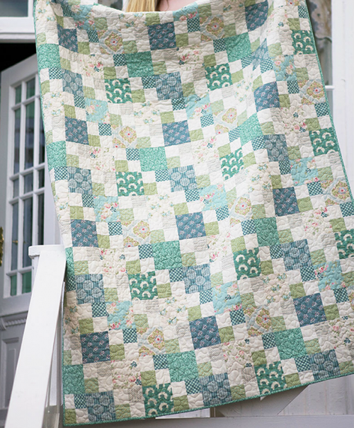 The Spring Lake Quilt - Free Pattern & Tutorial