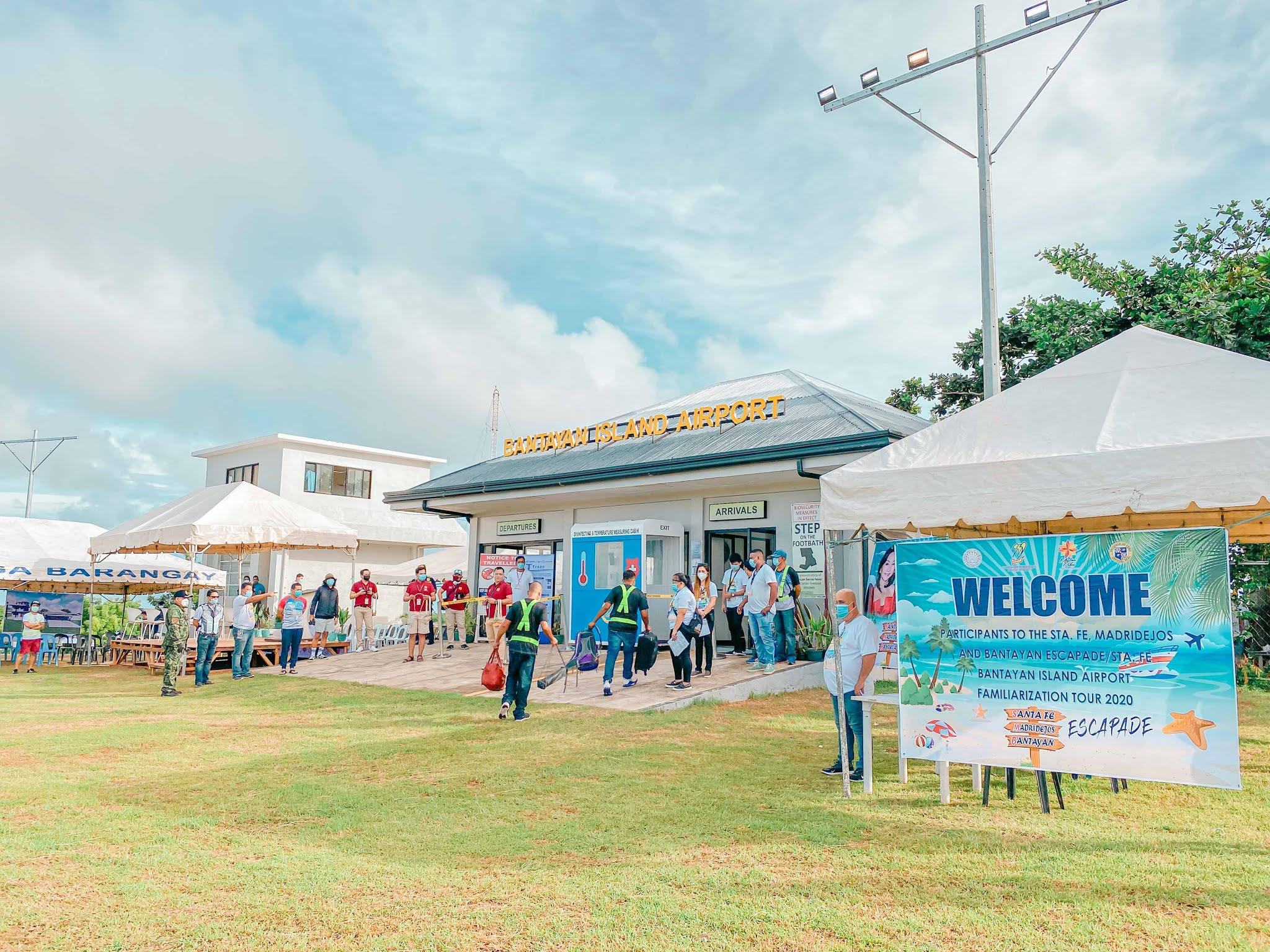 Annual Vacation Tradition in Bantayan Island - 2020 - Bantayan Island Airport