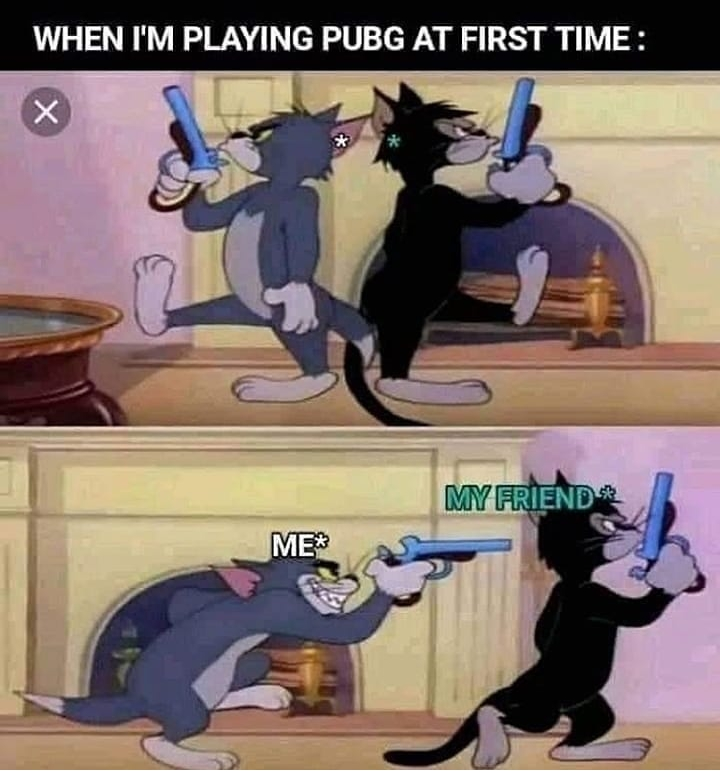 PUBG Memes in Hindi