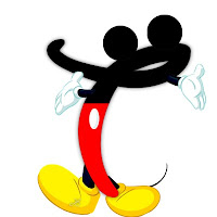 Original alfabeto inspirado en Mickey Mouse T.