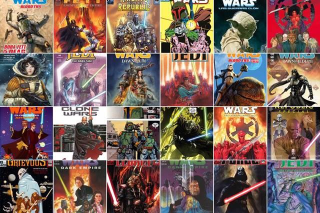 Los mejores cómics de Star Wars en Marvel y Dark Horse Comics