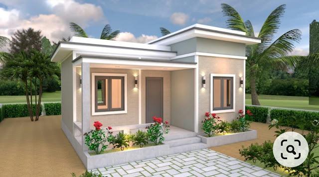 Pingin Coba Model Rumah Minimalis Atap Rata Ini Contohnya