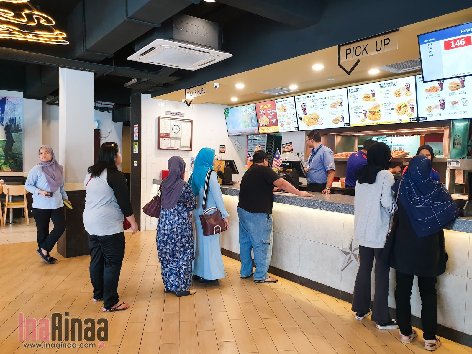 TEXAS CHICKEN MERDEKA DEALS- Hak Milik Ina Ainaa