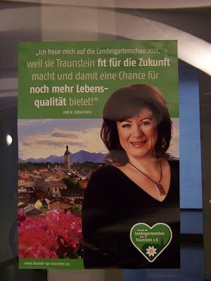 Dr. Bärbel Kofler zur Landesgartenschau Traunstein
