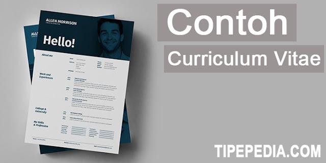 Contoh CV (Curriculum Vitae) atau Daftar Riwayat Hidup yang Menarik Perhatian HRD