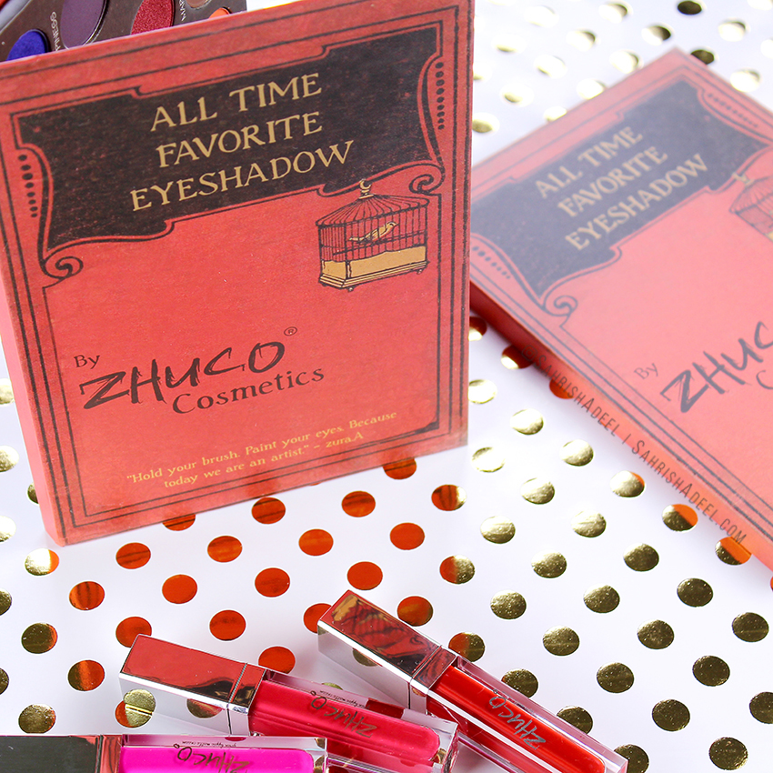 All Time Favorite Eyeshadow Palette by Zhuco Cosmetics - Review & Swatches