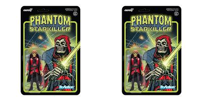 San Diego Comic-Con 2021 Exclusive Phantom Starkiller Red Baron Banshee Edition ReAction Figure by Killer Bootlegs x Super7