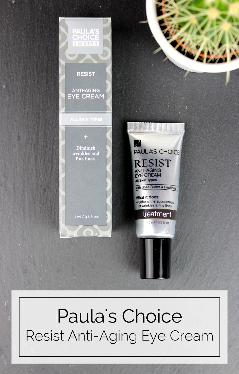 Paula's Choice Resist Anti-Aging Eye Cream Review