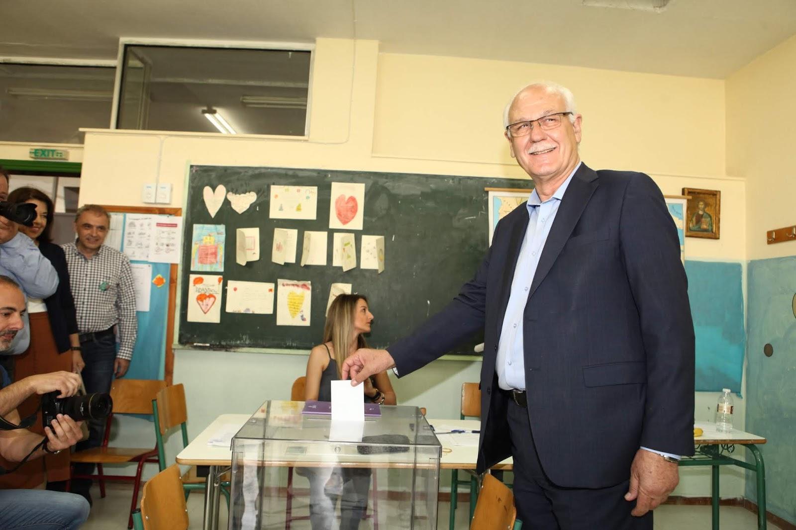 Κάλεσμα Καλογιάννη για μαζική συμμετοχή στις εκλογές κατά την άσκηση του εκλογικού του δικαιώματος