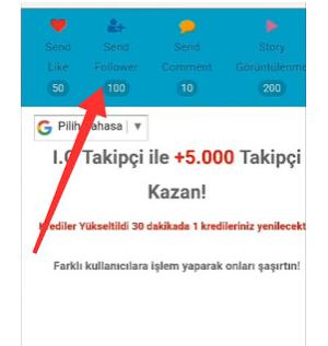 insfollow.com || Cara tambah followers instagram dengan infollow.com dari Takipci