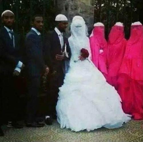 Check Out This Adorable Wedding Photo That Is Breaking The Internet