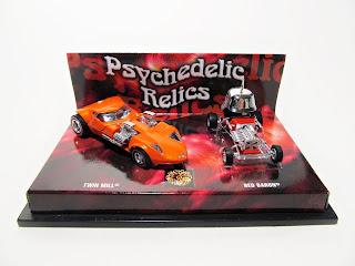 Hot Wheels 100% Psychedelic Relics set