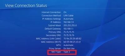 Cara Mengubah Jenis Nat 3 ke Nat 2 di PS4