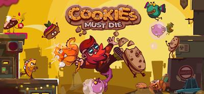 لعبة Cookies Must Die مهكرة مدفوعة, تحميل APK Cookies Must Die, لعبة Cookies Must Die مهكرة جاهزة للاندرويد